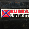 Sticker on the pick-up truck of Bubba - our local hiker shuttle driver